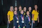 Quelques gymnastes du club Jako de Jonquière.... (Photo courtoisie) - image 3.0
