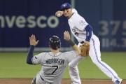 Logan Morrison a cogné trois coups sûrs et... (Associated Press) - image 3.0