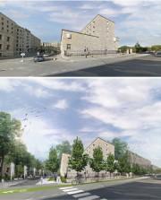 Le regroupement souhaite notamment l'aménagement d'une place publique... (Image fournie parRayside Labossière) - image 1.0