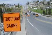 Le pont Carcajou est fermé aux piétons jusqu'au... (Le Quotidien, Gimmy Desbiens) - image 1.0
