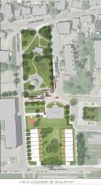 Le mois dernier, les autorités municipales avaient présenté... (Image fournie par la Ville de Québec) - image 1.0