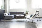 Le canapé sectionnel Spencer côtoie la chaise berçante... (Fournie par MA Mobilier Actuel) - image 2.0