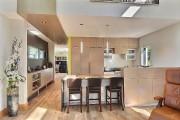 Cuisine. Les armoires en bois plaqué ont été... (PHOTO FOURNIE PAR RE/MAX 2001, N.M.) - image 3.0