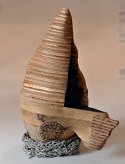 La sculpteure Claudia Côté s'inspire de la topographie... (Le Soleil, Patrice Laroche) - image 3.1