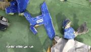 Des débris de l'appareil... (PHOTO AFP/FOURNIE PAR L'ARMÉE ÉGYPTIENNE) - image 1.0
