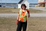 L'employée municipale Line Lemire serait peut-être prête à... (Photo collaboration spéciale Steeve Paradis) - image 3.0