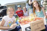 Marine, Chloé, Alice et Amélie ont découvert l'entrepreneuriat... (Photo Le Progrès-dimanche, Gimmy Desbiens) - image 4.0
