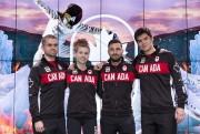 Maxime Brinck-Croteau, Eleanor Harvey, Joseph Polossifakis et Maximilien... (Courtoisie, Comité olympique canadien) - image 3.0