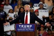 Donald Trump est sans concurrent depuis trois semaines... (PHOTO REUTERS) - image 3.0