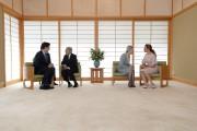 Pendant que Justin Trudeau s'entretenait avec l'empereur japonais... (La Presse Canadienne, Sean Kilpatrick) - image 4.0