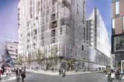 La construction du projet Carré Saint-Laurent commencera au... (Photo fournie par la Société de développement Angus et Provencher-Roy) - image 2.0