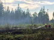 Les flammes ont pris naissance au 476, rang... (Service de protection contre l'incendie de Québec) - image 1.0