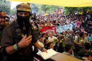 Sur cette photo de l'exposition 25 X la... (EPA, David de la Paz, 00698602) - image 4.0
