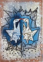 Jean Paul Riopelle,Oies sauvages (1983) fera partie de... (Fournie par la Ville de Québec) - image 6.0