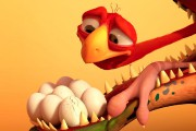 Cracké met en scène Ed, un papa autruche... (Fournie par Squeeze) - image 4.0