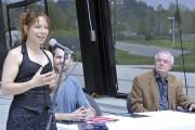 Marie-Claude Bouillon est heureuse de s'installer au Site... (Photo Le Quotidien, Rocket Lavoie) - image 3.0