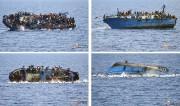 Des centaines de personnes sont tombées à la... (PHOTO MARINA MILITARE/AFP) - image 4.0