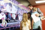 Chris Phillips était notamment accompagné de ses trois... (Simon Séguin-Bertrand, LeDroit) - image 2.0