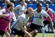 Didier Drogba était à l'entraînement jeudi.... (David Boily, La Presse) - image 2.0