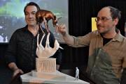 Jean-François Cooke et Pierre Sasseville ont présenté la... (Photothèque Le Soleil, Patrice Laroche) - image 6.0
