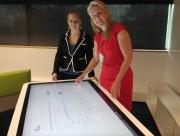 Anna Scheili (à gauche) et Sonja Behmel, présidente... (Le Soleil, Yves Therrien) - image 2.0