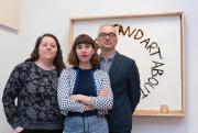 Les trois commissaires de la rétrospective consacrée actuellement... (Photo Paul Litherland, fournie par le Centre Clark) - image 1.0