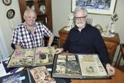 Denis et Michel Gagnon, deux des frères de... (Photo Le Progrès-dimanche, Rocket Lavoie) - image 2.0