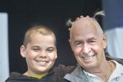 Yannick et son grand-père Roméo Gauthier... (Le Soleil, Jean-Marie Villeneuve) - image 3.1