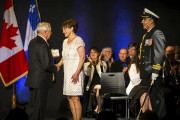 Judith Milette a reçu cette médaille, qu'on lui... (Olivier Croteau) - image 1.0