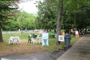 La chaleur caniculaire de samedi et la pluie... (Julie Catudal, La Voix de l'Est) - image 2.0