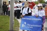 Marche CARSTAR faite de la fibrose kystique de... (Photo Le Quotidien, Mariane L. St-Gelais) - image 2.1