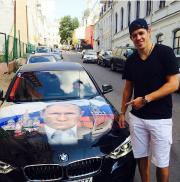 Evgeny Malkin et une voiture tout en subtilité...... (Photo tirée d'Instagram) - image 5.0