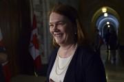 «C'est une journée historique», s'est réjouie la ministre... (Sean Kilpatrick, La Presse Canadienne) - image 1.0