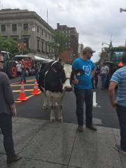 Une forte délégation de producteurs de lait... (Photo tirée de Facebook) - image 3.0