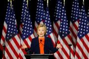 La candidate démocrate à la Maison-Blanche, Hillary Clinton... (Photo Mike Blake, Reuters) - image 1.0