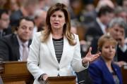 Rona Ambrose, chef par intérim du Parti conservateur... (PHOTO ADRIAN WYLD, ARCHIVES LA PRESSE CANADIENNE) - image 3.0