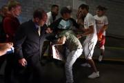 Ce partisan de Trump a été attaqué physiquement... (PHOTO Mark Ralston, AFP) - image 1.0