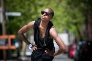 La danseuse a inclus son jeune fils Roscoedans... (PHOTO FRANçOIS ROY, LA PRESSE) - image 1.0
