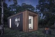 Parmi les habitations proposées, des refuges fabriqués à... (Fournie par Repère Boréal) - image 2.0