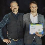 Simon et Jonathan Galarneau ont reçu le premier... (Fournie par Repère Boréal) - image 3.0