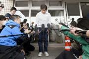 Takayuki Tanooka, le père du jeune garçon, est... (PHOTO Daisuke Suzuki, Kyodo News/AP) - image 3.0