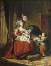 Détail de Marie-Antoinette et ses enfants, 1787.... (Musée national des châteaux de Versailles et du Trianon) - image 1.0