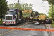 L'accident est survenu sur le boulevard des Acadiens,... (François Gervais) - image 4.0