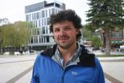Philippe Belley se prépare à tourner son projet... (Photo courtoisie, Caroline Gagnon) - image 4.0