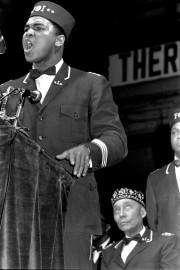 Muhammad Ali prend la parole lors d'une convention... (ARCHIVES AP) - image 2.0