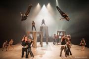 Dans Demain, la mise en scène de Marie-Josée... (Photo Roland Lorente, fournie par l'École nationale de cirque) - image 1.0