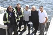 L'équipage du Chasseur d'écume avec le capitaine, Jeff... (Collaboration spéciale Fanny Lévesque) - image 2.0