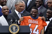 Le président Barack Obama recevait à la Maison-Blanche,... (AP, Susan Walsh) - image 3.0