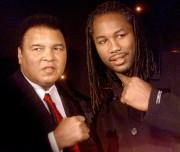 MuhammadAli et Lennox Lewis en 2001.... (ARCHIVES AFP) - image 2.0