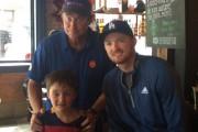 Wayne Gretzky, son fils Trevor et Xavier Blouin.... - image 3.0